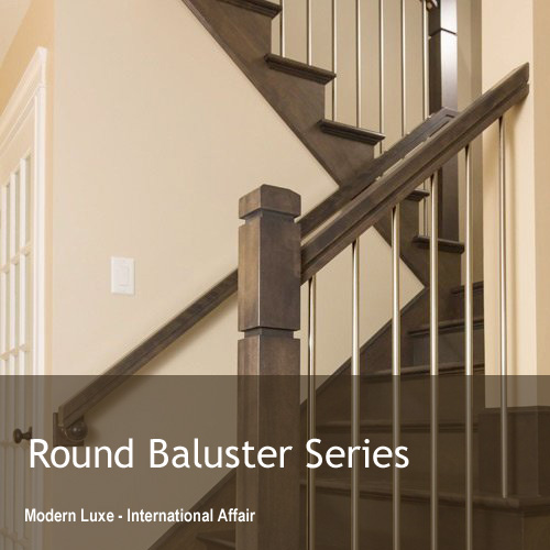 Round Metal Balusters Series