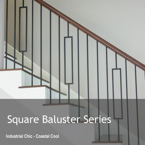 Square Metal Balusters Series